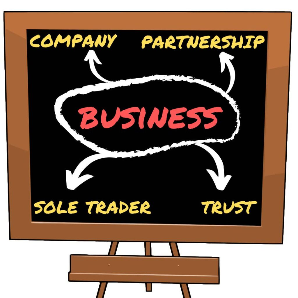 company, company structure, business types
